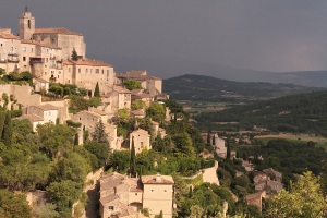 Gordes, a town on a hill
