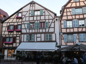 Cafe in the beautiful Colmar