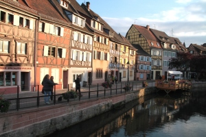Little Venice is probably an ambitious name, but it is a particularly scenic area of Colmar