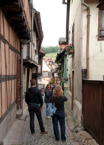 The streets of Riquewihr
