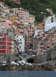 The beauty of Cinque Terre