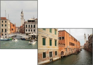 The Venice architecture is still glorious