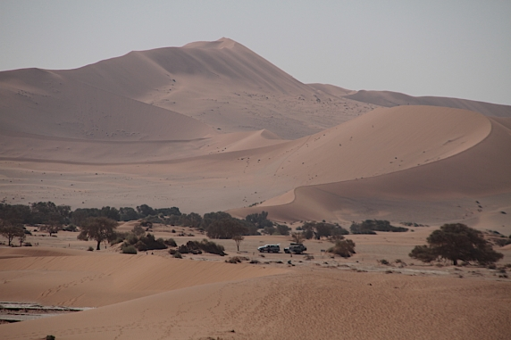 The huge dunes of Sossusvlei
