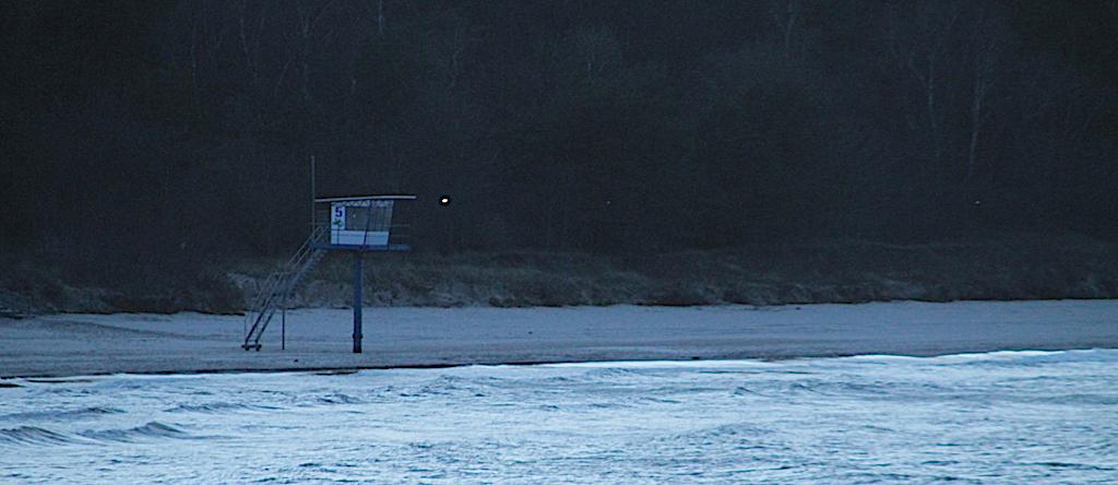 Beach whatch tower